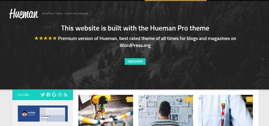 Hueman WordPress Theme Download