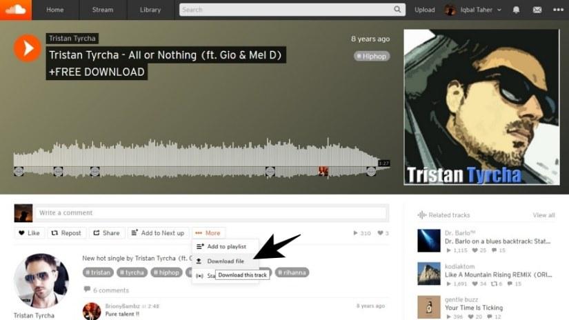 Cara Download SoundCloud dari Situs Resmi