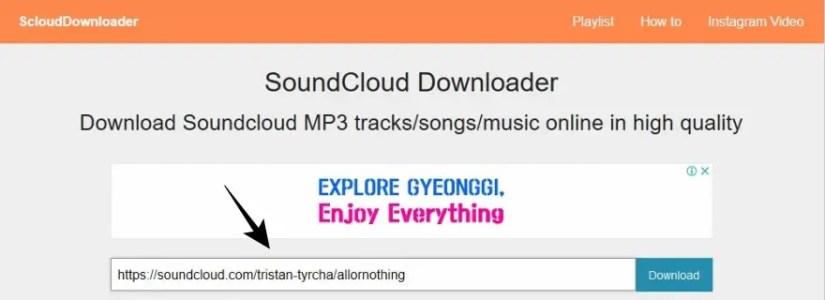 Cara Download SoundCloud via Third Party