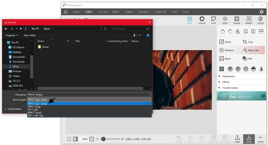 Mengubah Foto PNG ke JPG dengan Photoscape
