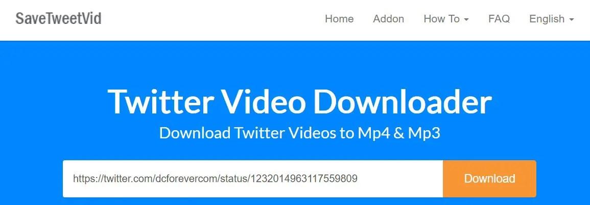 Download Video Twitter dengan Twitter Video Downloader Online