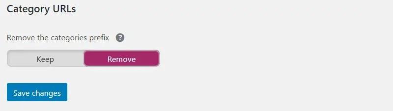 Remove Category URLs di Yoast