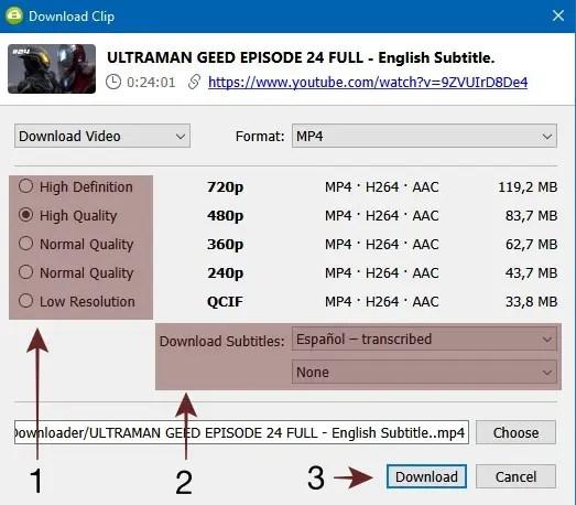 Cara Download Video YouTube dengan Subtitle