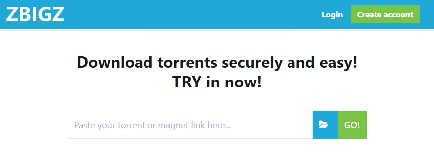 Download Torrent dengan IDM dengan Zbigz