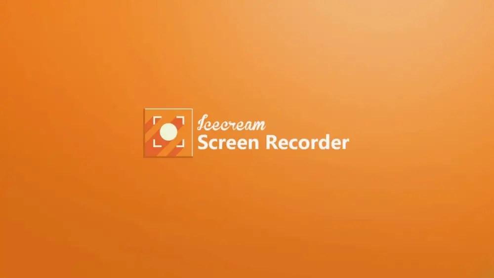 Icecream Screen Recorder PC