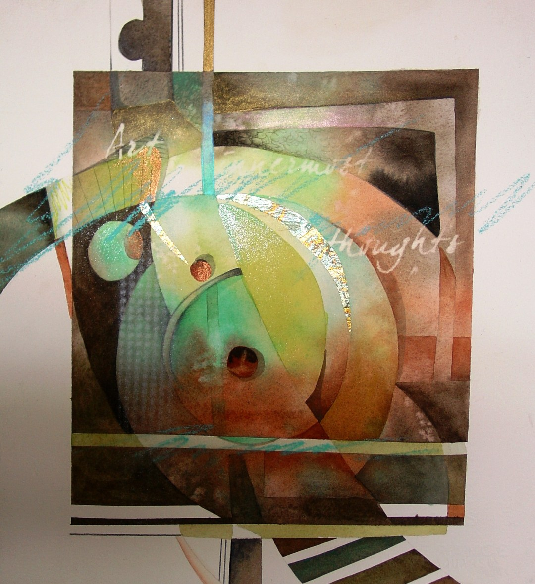 Watercolor Painting: Mini-Abstracts 1