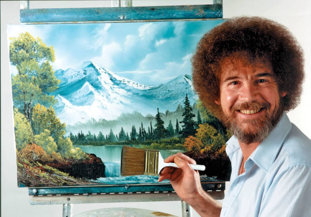 Bob Ross Painting Workshop 1