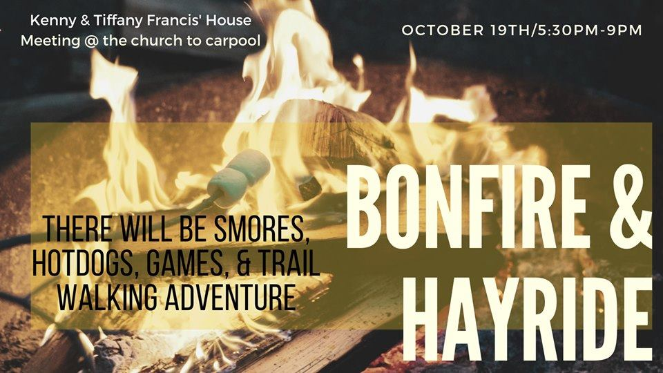 Student Ministry Bonfire and Hayride 1