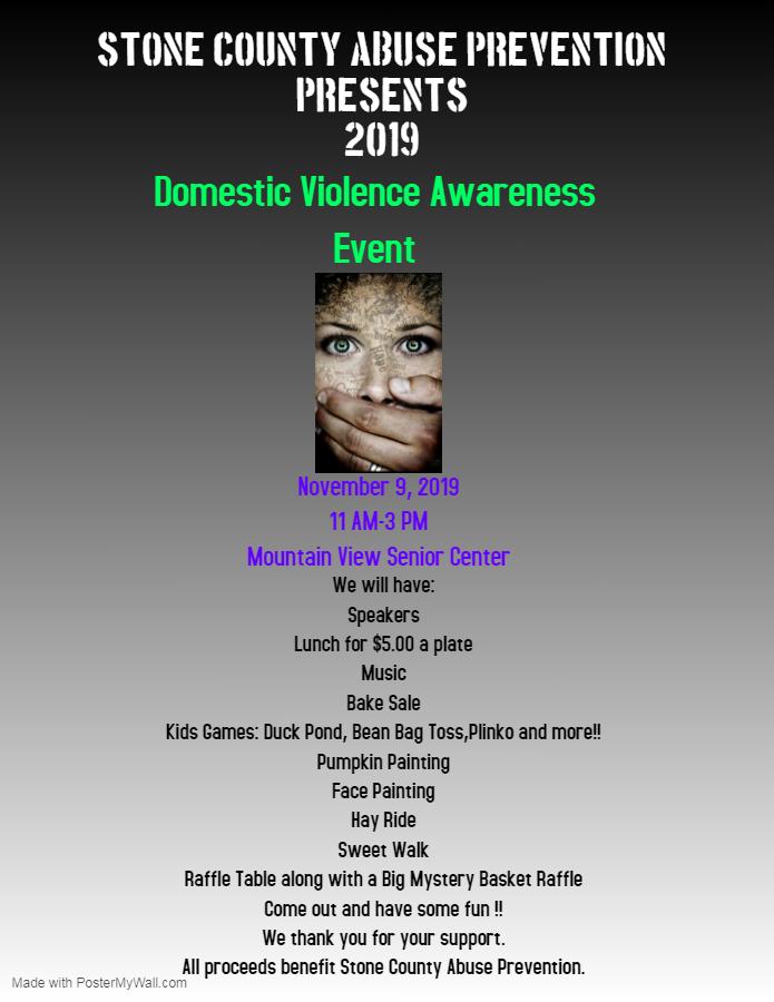 Domestic Violence Awareness Event 1