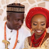 Traditional Ghana-Nigerian wedding
