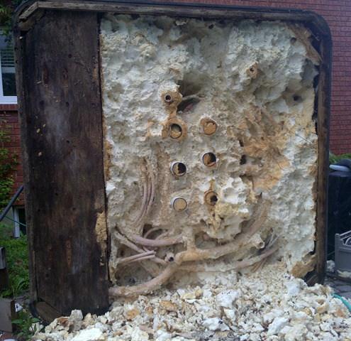 hot tub dealers, construction, foam, plumbing, wood, rot, rats, mice, snakes, termites, carpenter ants
