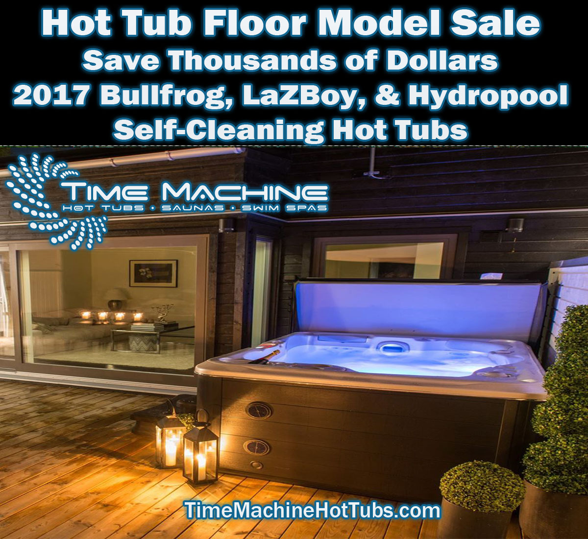 Hot Tub Sale Longview TX- New and Used Discounts- 3 Major Brands