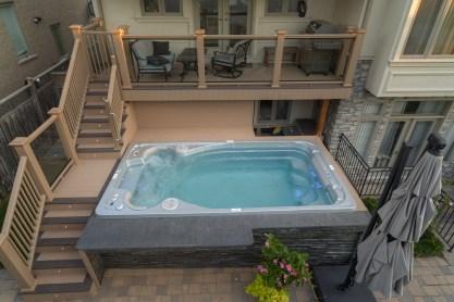 swim spa exercise pool endless pool swimming aquatic wave pool longview home show