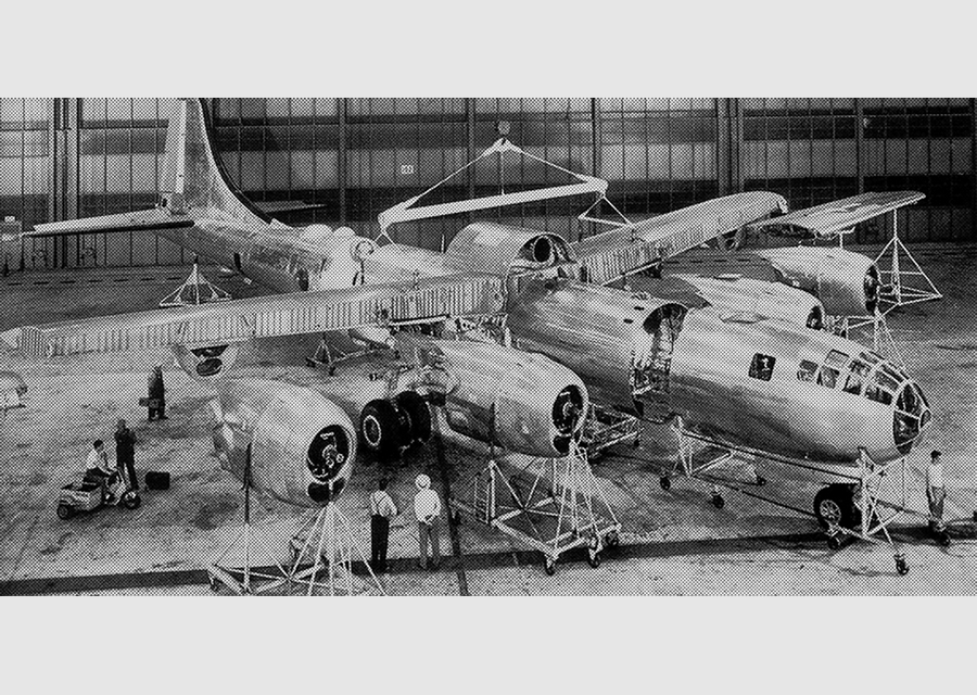 B-29 sub assembly w screen