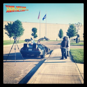 Got a Doc Brown but no DeLorean Time Machine for your upcoming event's video shoot? We can help you with our time machine rental.