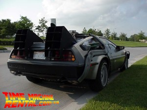 """Rear angle of the time machine and the second most """"borrowed"""" shot of our car since we first posted photos on the internet back in 1999."""