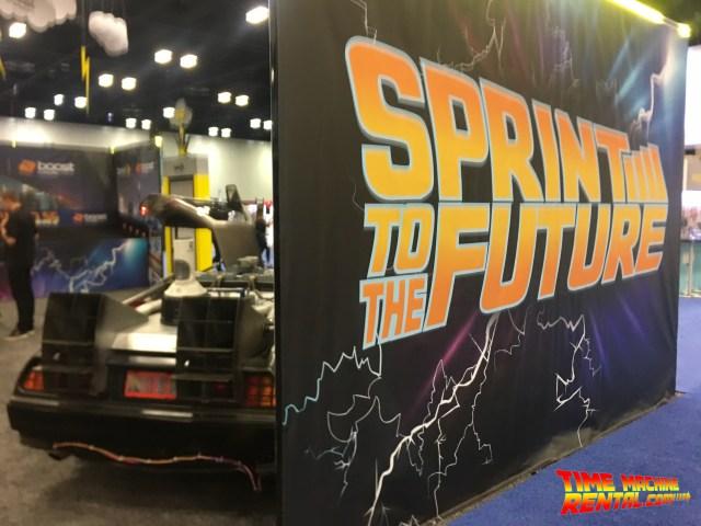 San Antonio Texas DeLorean Time Machine Rental