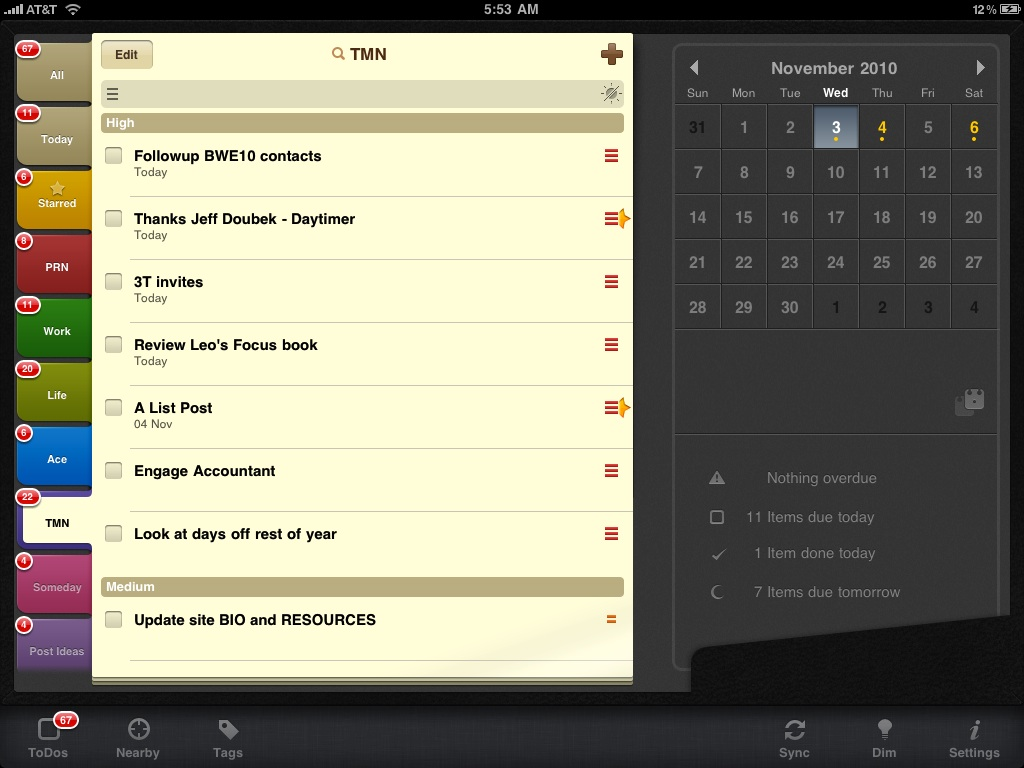 My Favorite Todo App For Iphone Ipad 2do