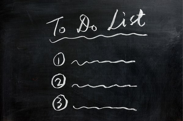 Todo List board