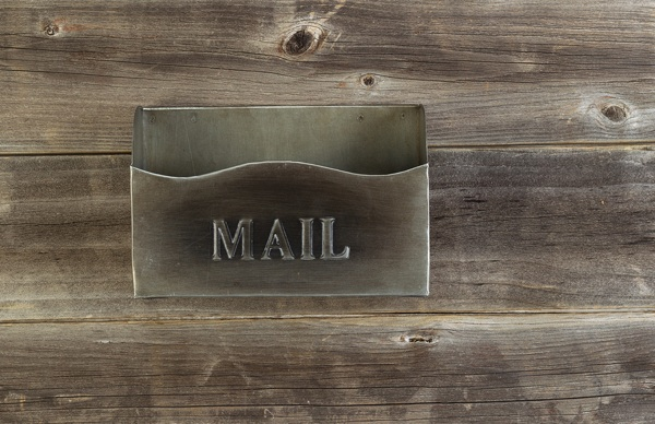 Old Empty Mailbox Zero