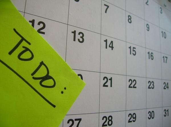 Todos on Your Calendar