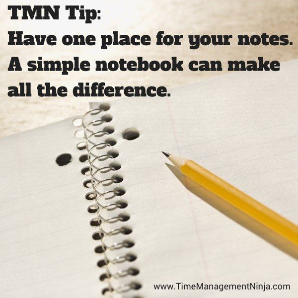 One Notebook TMN Tip