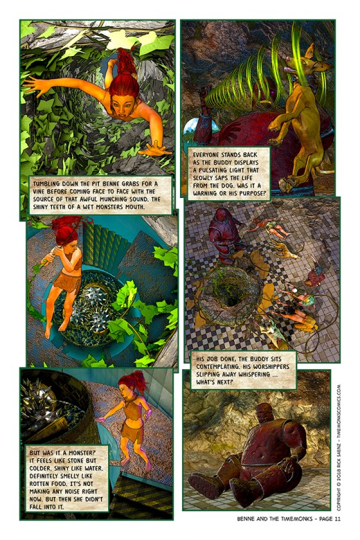 Benne and the Timemonks - Chapter 1 - Benne Finds The Door - Page 11