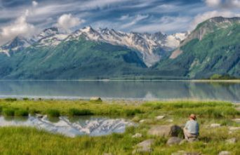 haines, alaska, chilkat, reflection, solace, landscape, photography