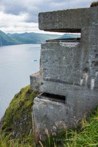 Aleutian Islands, AMHS, Alaska, Alaska Marine Highway System, Unalaska, Dutch Harbor, army, WWII, Fort Schwatka, Ballyhoo