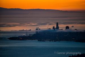 San Francisco Bay, sunrise
