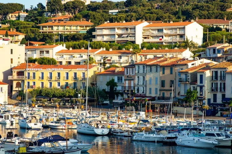Cassis town