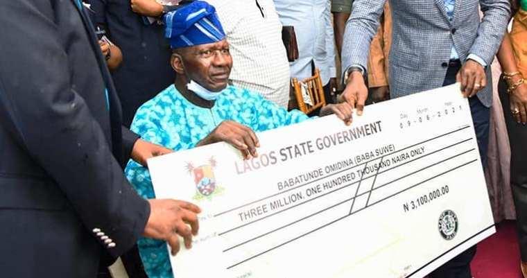 Sanwo Olu Compensate Baba Suwe