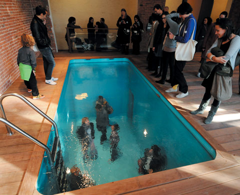Leandro Erlich Swimming Poolat PS1 Contempory Art