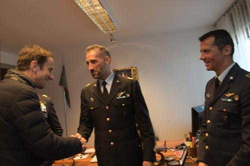 thumb500_74252_pres Fedriga incontra comandante frecce Farina con predecessore.Caffelli