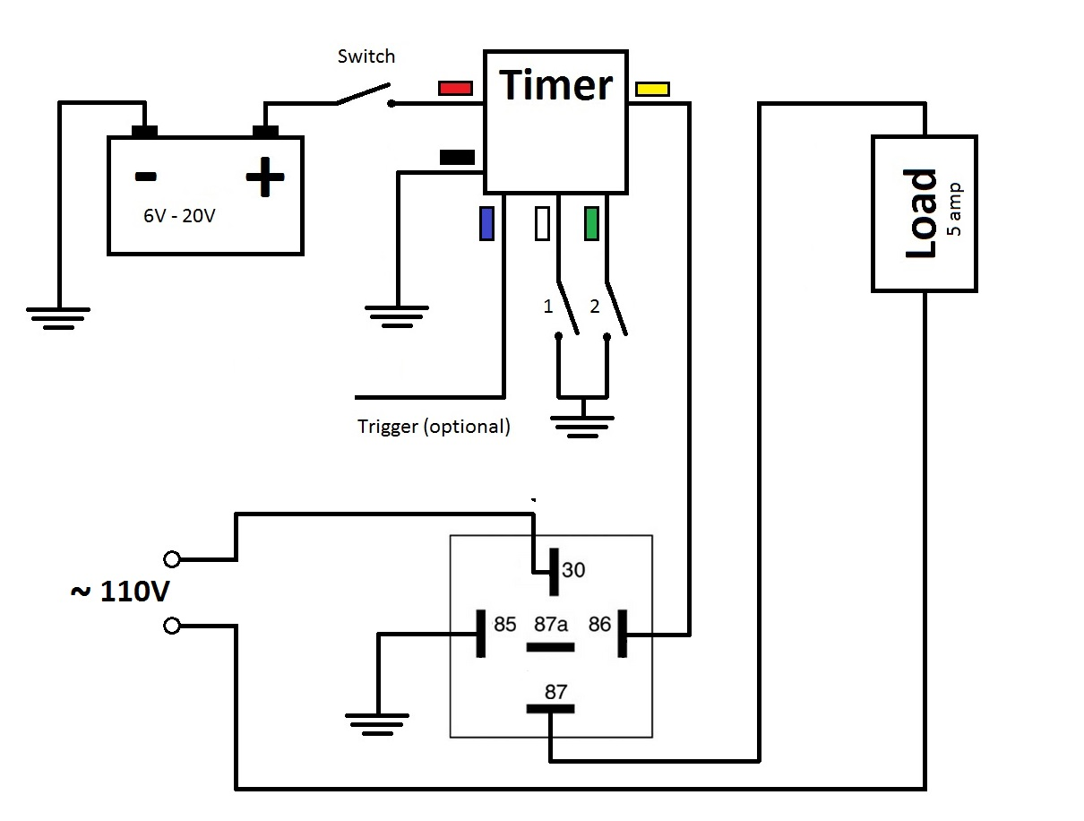 Time Delay Switch Wiring Diagram