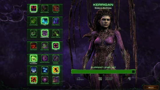 Kerrigan Abilities