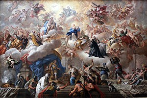 The Triumph of the Immaculate by Paolo de Matteis.