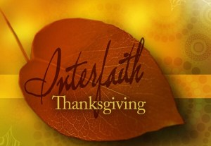 Interfaith Thanksgiving