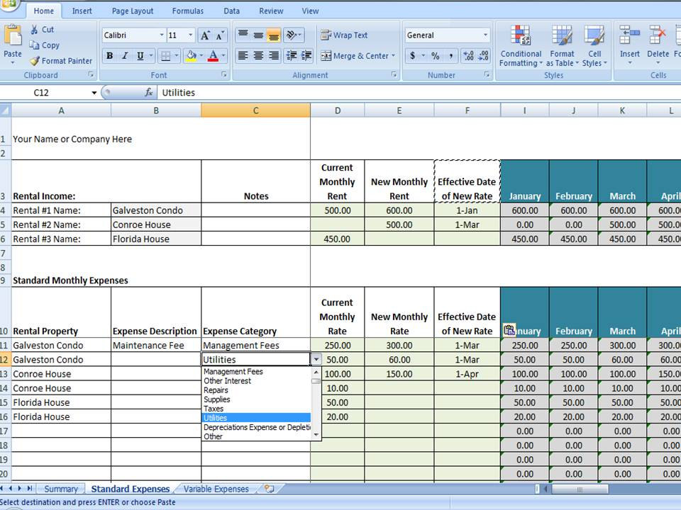 Vrbo Accounting Excel Worksheet Excel Template For