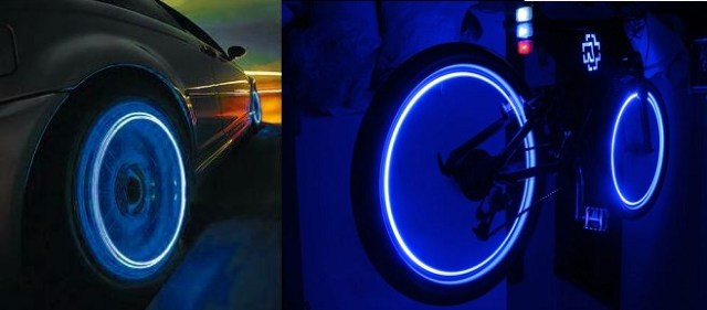 LED Lights for Wheels Cool stuff on Amazon