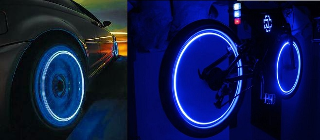 LED Lights for Wheels Cool stuff on Amazon