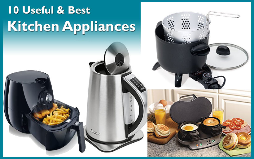 Kitchen Appliances | 10 Must Have Kitchen Appliances For Bachelors