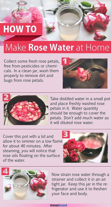 make rose water