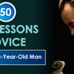 50 Life Lessons Advice from an 80-Year-Old Man Infographic