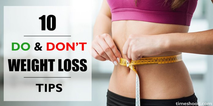 10 Easy Weight Loss Tips for fast result. Weight Loss, Lose Weight, Weight Loss Do and DontTips,