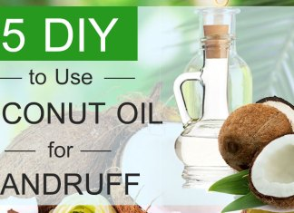 5 DIY to Use Coconut Oil for Dandruff