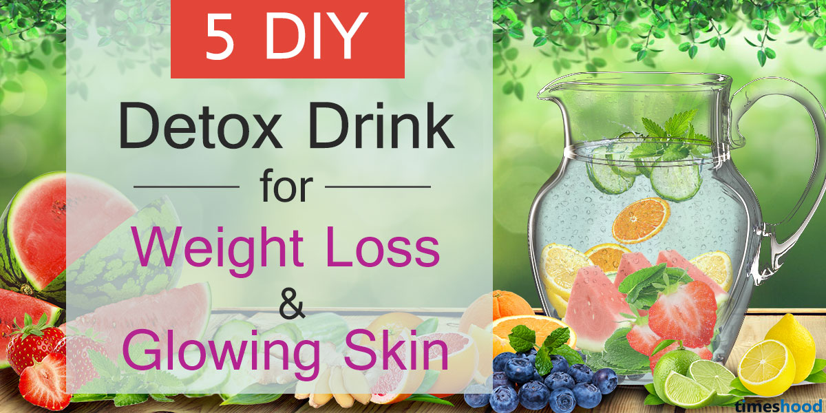 5 Delicious Detox Water Recipes for Weight Loss and Glowing Skin [DIY]