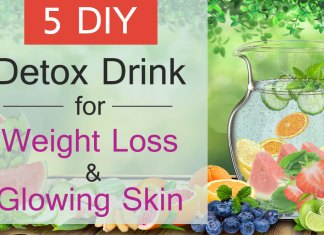 5 DIY Best Detox Water Drink for weight loss. Delicious Detox Water Recipes and Benefits. How to prepare Detox water at home.