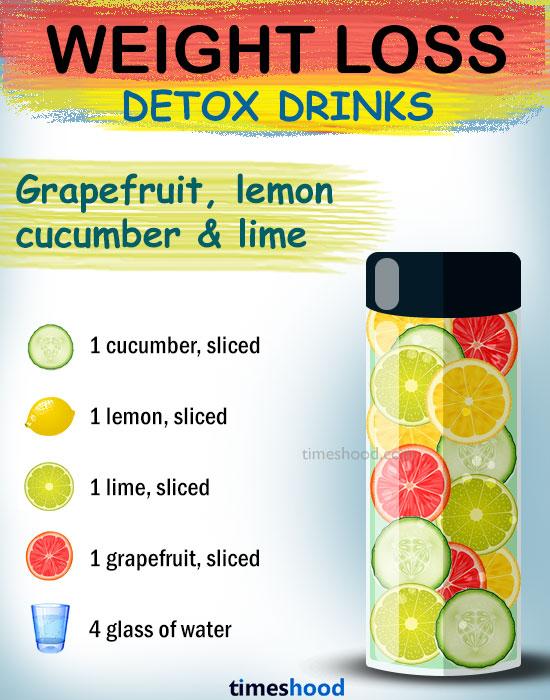 Comment perdre du poids. Pamplemousse concombre boisson citron perte de poids. meilleures boissons détox pour brûler les graisses. Eau détoxifiante efficace pour la perte de poids