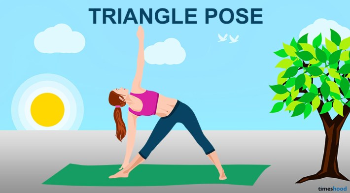 Triangle Pose - Yoga For Neck & Back Pain